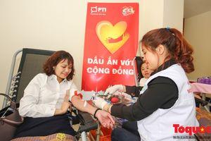 Ngày hội hiến máu nhân đạo 'PTI - Dấu ấn với cộng đồng'