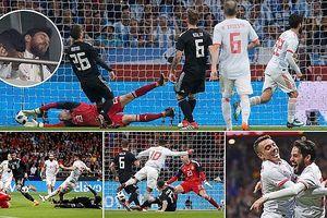 Tây Ban Nha vùi dập Argentina với tỉ số không tưởng