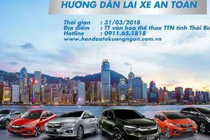 Honda Ôtô Kường Ngân hướng dẫn lái xe An toàn cho các khách hàng thân thiết