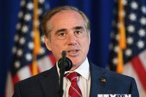 Mỹ: Bộ trưởng Cựu chiến binh David Shulkin sẽ từ chức