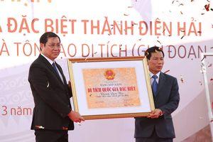 Đà Nẵng đón nhận Bằng xếp hạng Di tích quốc gia đặc biệt Thành Điện Hải