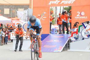Loic Desriac (Bikelife Đồng Nai) tạm dẫn đầu cuộc đua xe đạp 'khủng' nhất Việt Nam