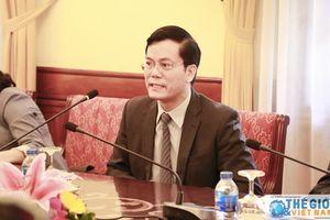Thứ trưởng Ngoại giao Hà Kim Ngọc tiếp đoàn Trợ lý Nghị sĩ Mỹ