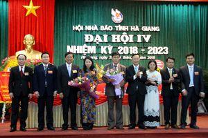Nhà báo Lê Trọng Lập, Chủ tịch Hội Nhà báo Hà Giang tái cử chức Chủ tịch