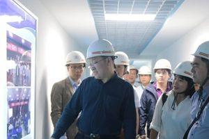 Đoàn ĐB công ty CP cấp nước Hải Phòng thăm nhà máy mới XinXing