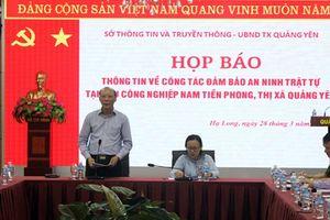 Quảng Ninh: Thông tin nhóm đối tượng hành hung bảo vệ, đập phá tài sản tại KCN Nam Tiền Phong