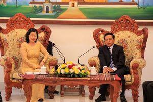 Tăng cường quan hệ hợp tác toàn diện VKSND tối cao Việt Nam – Lào