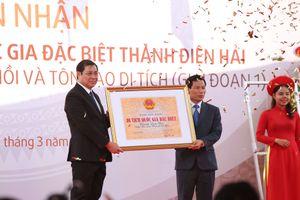 Thành Điện Hải đón nhận Bằng xếp hạng Di tích quốc gia đặc biệt