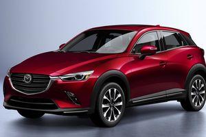 Mazda CX-3 2019 ra mắt với động cơ mạnh mẽ hơn