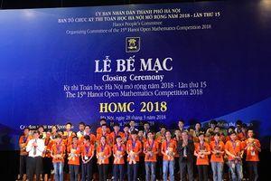 9 quốc gia tham dự kỳ thi Toán học Hà Nội mở rộng (HOMC) 2018