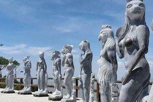 Hải Phòng yêu cầu 'nhốt' tượng 12 con giáp khỏa thân chờ thẩm định