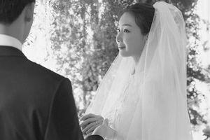 Choi Ji Woo tiết lộ ảnh cưới hiếm hoi đẹp long lanh như chụp họa báo