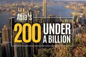 9 công ty Việt Nam vào Forbes 200 doanh nghiệp dưới 1 tỷ USD tốt nhất châu Á