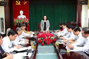 Phó Bí thư Thường trực Ngô Thị Thanh Hằng: Gắn thực hiện quy chế dân chủ với các nhiệm vụ trọng tâm của TP