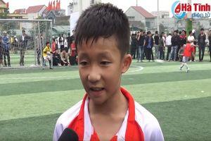 'Messi Hà Tĩnh' gia nhập trung tâm bóng đá trẻ PVF với mơ ước được chơi cho CLB Hà Nội