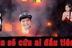 Ghép ảnh thí sinh trong hỏa hoạn, Giọng hát Việt nhí phải xin lỗi