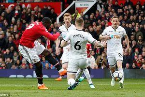 Trực tiếp MU vs Swansea vòng 32 bóng đá Ngoại Hạng Anh