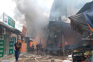 Cháy chợ thiêu rụi hàng loạt ki ốt ở Hà Nội: Nhận định nguyên nhân ban đầu