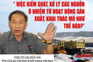 Dừng khai thác mỏ sắt Thạch Khê (bài 11): Không đánh đổi môi trường lấy kinh tế!
