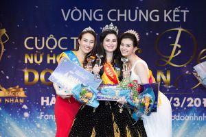 Người đẹp Trần Huyền Nhung đăng quang Nữ hoàng sắc đẹp doanh nhân 2018