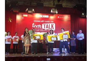 Chung kết cuộc thi hùng biện tiếng Anh TeenTalk 2018