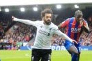 M. Salah giúp Liverpool thắng nhọc nhằn Crystal Palace 2-1