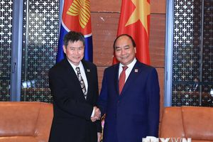 Thủ tướng tiếp các quan chức cấp cao dự Hội nghị GMS 6-CLV 10