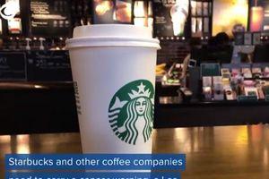 Càphê Starbucks bị buộc phải dán nhãn cảnh báo ung thư