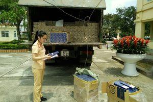 CSGT Thanh Hóa: Bắt giữ xe ô tô vận chuyển thuốc lá lậu