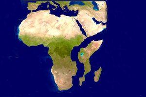 Châu Phi sắp tách ra làm 2
