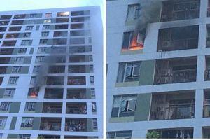 TP Hồ Chí Minh: Cháy tại tầng 8 chung cư ParcSpring