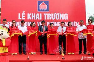 Khai trương Showroom và Văn phòng đại diện Công ty CP Thạch Bàn miền Trung tại Nghệ An