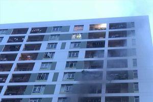 TP.HCM: Lại xảy ra cháy tại chung cư cao cấp ParcSpring