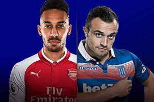 Đội hình dự kiến Arsenal vs Stoke: Pháo thủ sử dụng sơ đồ 4-2-3-1?