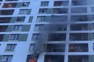 Sửng sốt với nguyên nhân cháy chung cư Parc Spring