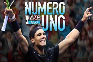 Nadal trở lại số 1 thế giới lần thứ 5