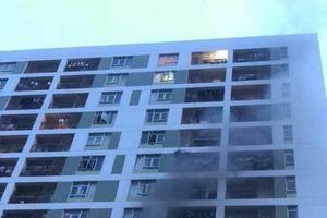 Cục sạc dự phòng phát hỏa gây cháy chung cư Parc Spring
