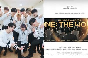 Comeback chưa 'nguội', Wanna One tiếp tục hâm nóng tên tuổi bằng 1 tour thế giới