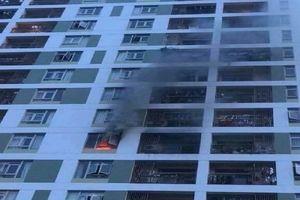 Thêm một vụ cháy ở chung cư ParcSpring do cắm sạc điện thoại