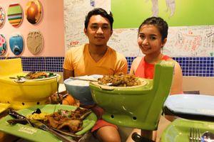 Nhà hàng toilet hút khách ở Philipines
