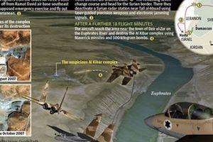 Israel thừa nhận tấn công cơ sở hạt nhân Syria