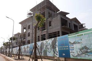 Hàng chục biệt thự Khai Sơn Hill Long Biên ngang ngược xây dựng không phép