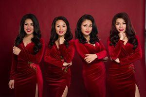 Nhóm nhạc Mộc Miên tự tin hát acapella trong đêm nhạc bán cổ điển