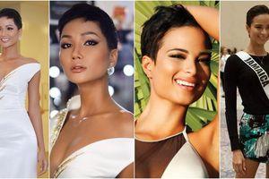 Cắt tóc ngắn cũn, H'Hen Niê muốn trở thành 'bản sao chân thực nhất' của Hoa hậu Jamaica?