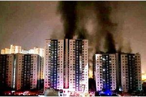 Dân chung cư cao tầng thấp thỏm lo cháy?