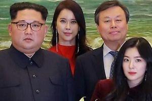 Bức ảnh người đẹp Hàn Quốc bên ông Kim Jong Un gây chú ý