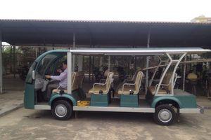 Xe buýt điện gặp khó