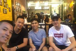 Cầu thủ Việt kiều Tony Lê Tuấn Anh phấn khởi tái ngộ Đức Chinh, Văn Hậu