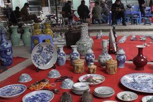 Hồn xưa nét cũ còn lưu lại ở chợ đồ cổ Vạn Phúc