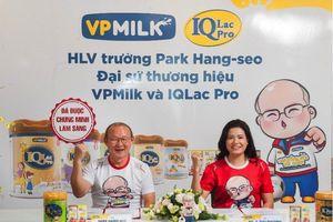 HLV Park Hang Seo ngộ nghĩnh làm đại sứ thương hiệu 